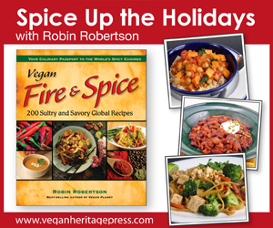 Vegan Fire and Spice Ad Chic Vegan
